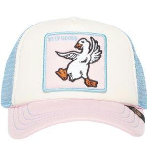 Goorin Bros Silly Goose Pink Kids Trucker Hat